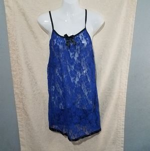 Blue Lace Nighty